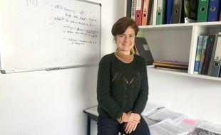 Katia Zanier, chercheuse en biologie au CNRS à Strasbourg.