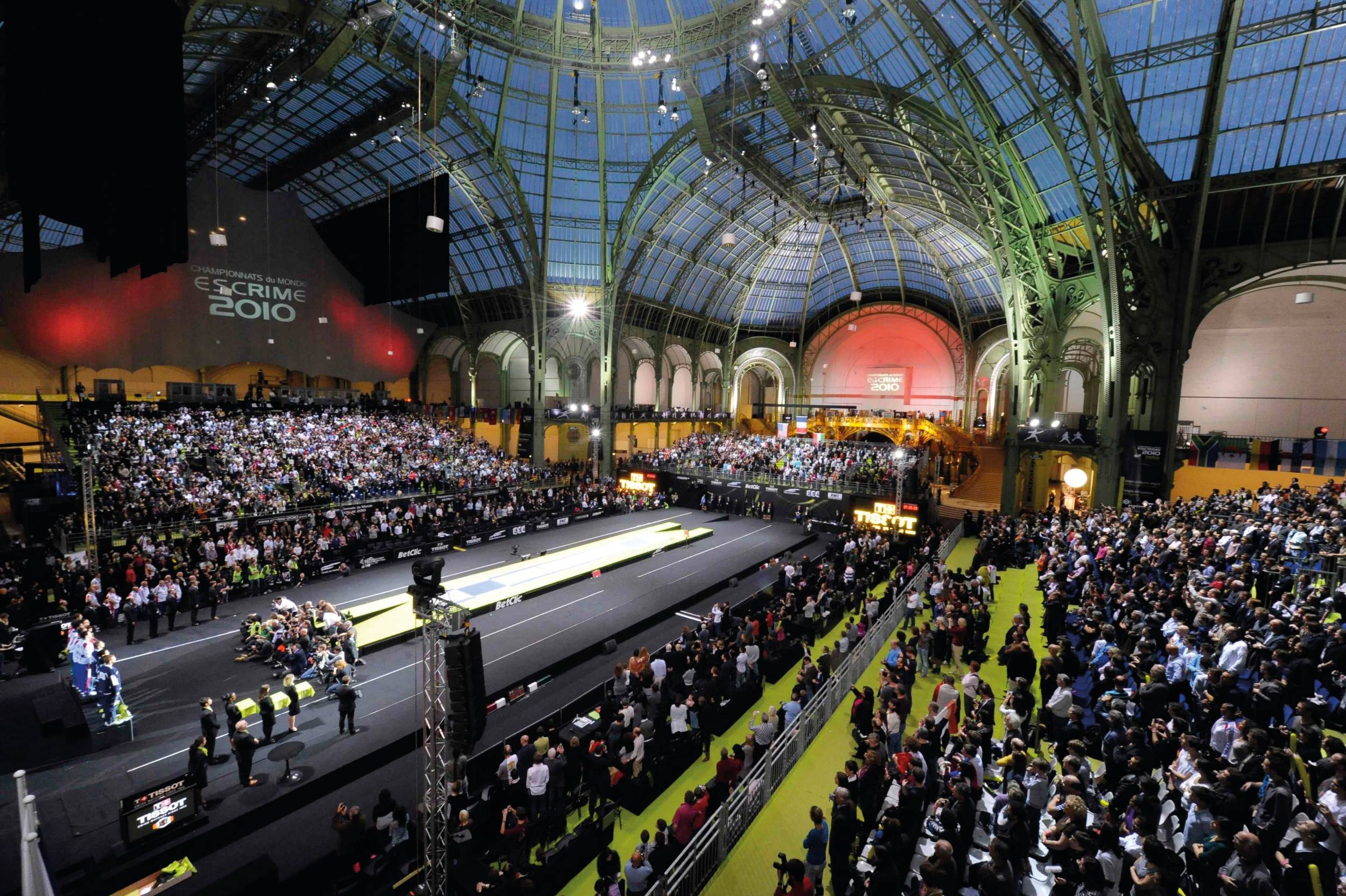 Jo paris 2024 le v lo sur les champs le tir l arc aux for Projet architecture paris