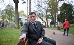 Bruno Beschizza, 48 ans, l'année de son élection en tant que maire d'Aulnay.