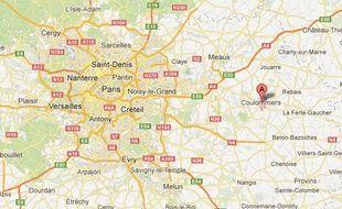 Une tête de porc et des tags nazis ont été découverts sur le chantier de la future mosquée de Coulommiers (Seine-et-Marne), le 15 avril 2013