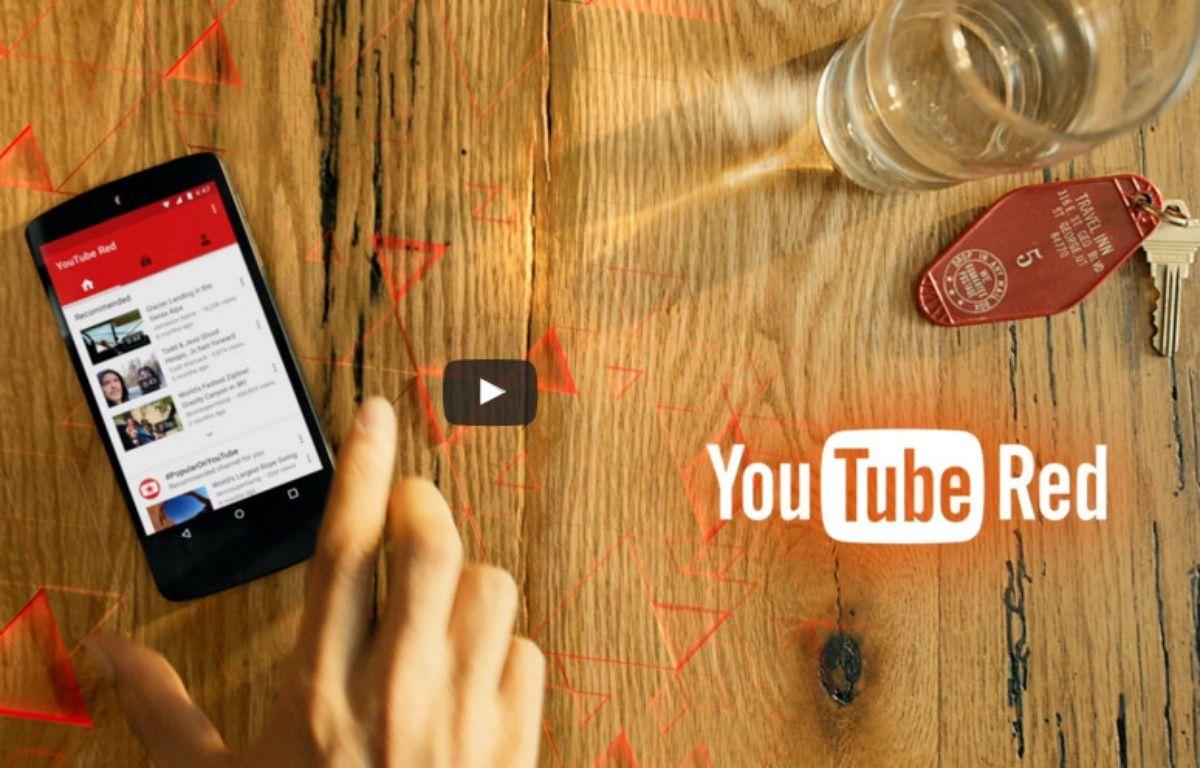 YouTube Red propose un accès sans publicité pour 9,99 dollars par mois. – GOOGLE