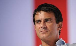 Manuel Valls, député-maire socialiste d'Evry, à La Rochelle pour l'université d'été du Parti socialiste, samedi 28 août 2010.