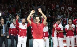 Roger Federer a remporté dimanche à Lille sa première Coupe Davis