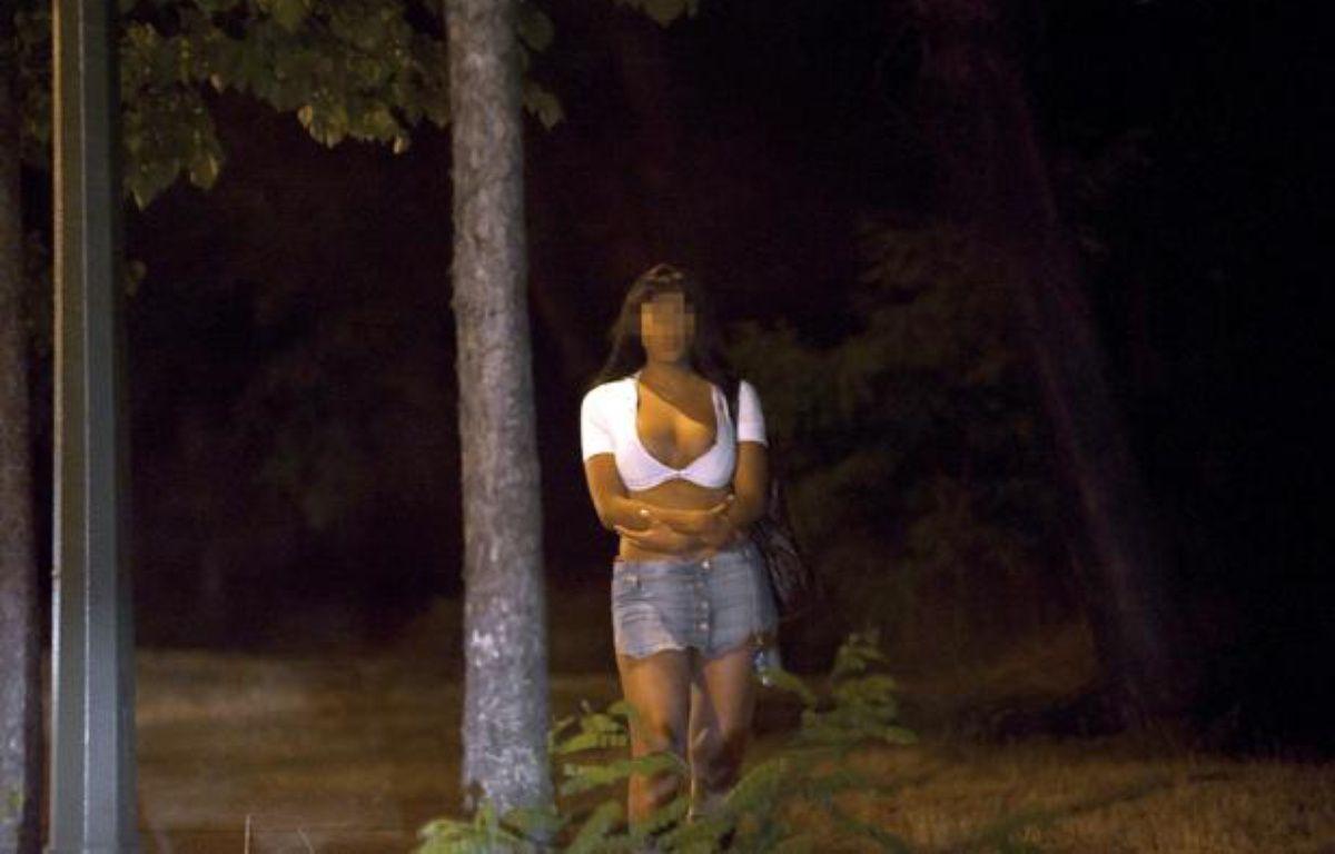 Une prostituée au Bois de Boulogne, le 6 juin 2011. – B.LANGLOIS / AFP
