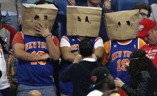 Des fans des Knicks, en décembre 2014. Illustration