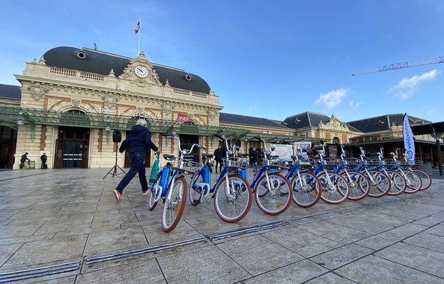 E-vélo bleu, service de location de vélos électriques à Nice