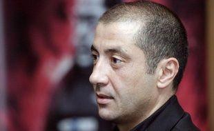 Le président du RCT Mourad Boudjellal, le 23 septembre 2007, au stade Mayol.