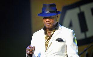 Le chanteur Koffi Olomidé en concert à Paris en 2007.