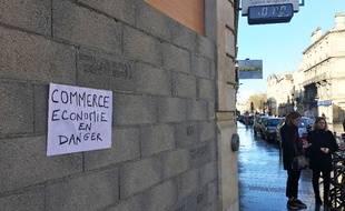 Les commerçants du cours Pasteur à Bordeaux sont durement touchés par les casseurs en marge des manifestations