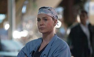 Ellen Pompeo (Meredith Grey) dans la série « Grey's Anatomy ».