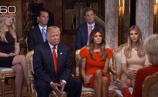 Ivanka Trump était sur le plateau de «60 Minutes» aux côtés de son père et de sa famille
