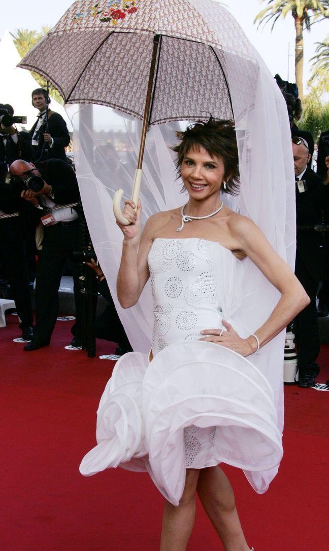 Victoria Abril au Festival de Cannes, en mai 2005.