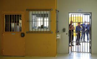 Le quartier d'évaluation de la radicalisation dans la prison de Vendin-le-Vieil.