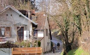 Pont de beauvoisin le 14/02/2018 : Des recherches pour retrouver le corps de la petite Maelys dans le massif de la chartreuse suite aux aveux de Nordahl Lelandais