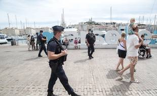 La fréquentation a été en hausse cet été à Marseille.