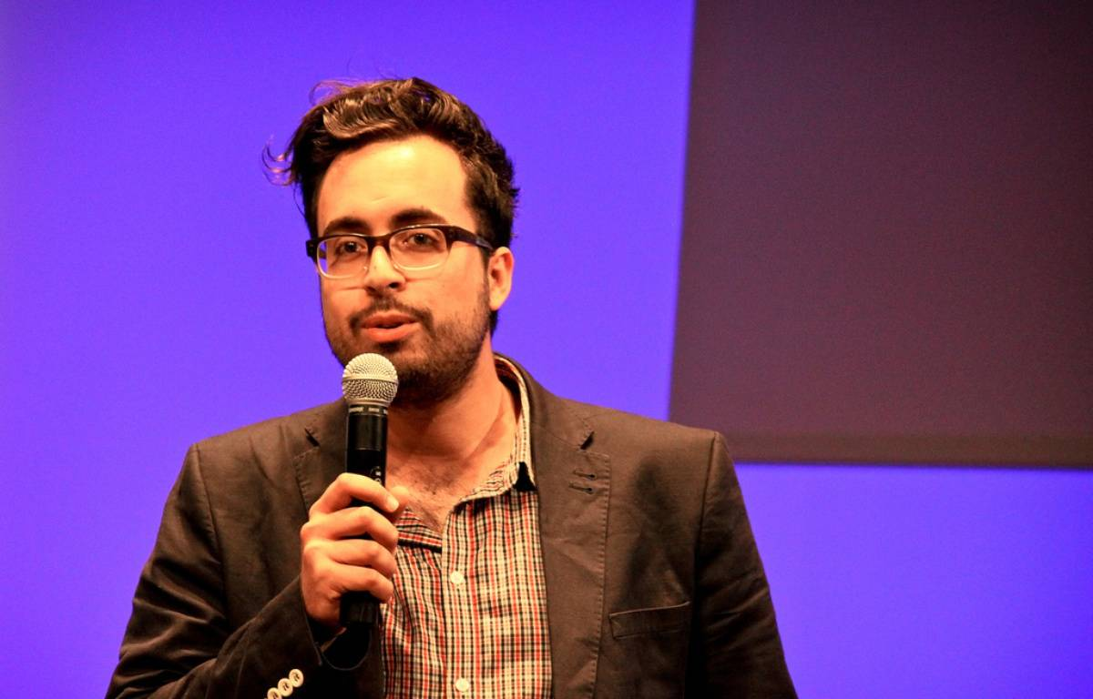 Mounir Mahjoubi s'était fait remarquer il y a plus de vingt ans en remportant un concours de jeunes inventeurs.  – Swanny Mouton/FLICKR