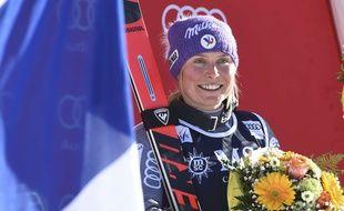 Tessa Worley est une des plus grandes chances de médaille pour la France à Pyeongchang