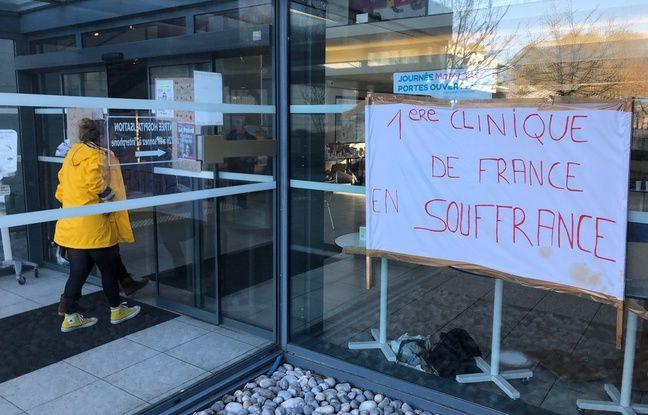 Les salariés de la clinique dénoncent des conditions de travail qui se dégradent.