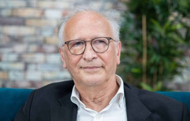 Le docteur Alain Fischer dans le locaux de 20 Minutes le 3 juin 2021.