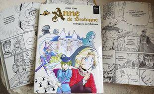 Le manga « Anne de Bretagne » par Cédric Tchao.