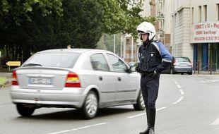 Un contrôle routier dans les rues de Lille (image d'illustration).