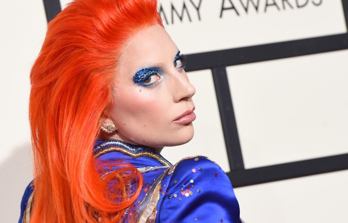 Lady Gaga aux Grammy Awards 2016 – V.MACON/AFP