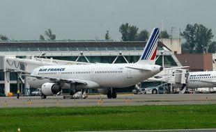 Un avion Air France.