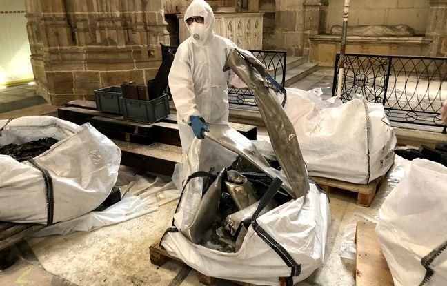 Les tuyaux du grand orgue ont été totalement détruits.