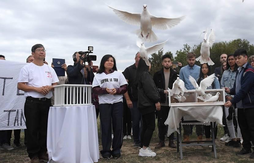 Affaire Sophie Le Tan : La famille organise un lâcher de colombes, un an après sa disparition
