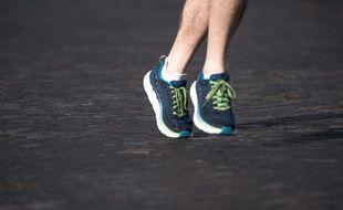 Le suspect était un adepte de la course à pied (Illustration).
