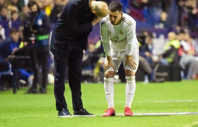 Liga: Sale soirée pour le Real Madrid battu à Levante avec un Hazard blessé avant le match contre City