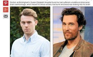 Rory Curtis s'est réveillé de six jours de coma en croyant qu'il était l'acteur Matthew McConaughey.