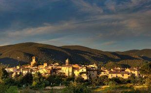 Le village de Lourmarin dans le Vaucluse.