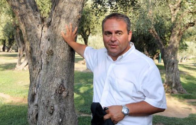 Xavier Bertrand le 24août à Nice.
