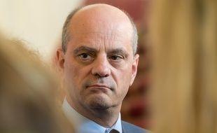 Jean-Michel Blanquer, ministre de l'Education le 18/04/2019. Credit:Jacques Witt/SIPA.