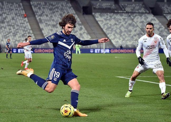 Yacine Adli, le milieu de terrain des Girondins.