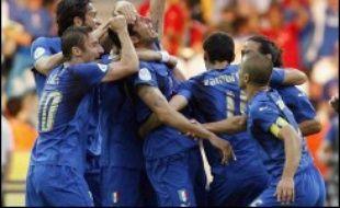 L'Italie est devenue championne du monde 2006 de football en battant la France 5 tirs au but à 3 (1-1 après prolongation, mi-temps: 1-1) en finale, dimanche à Berlin.