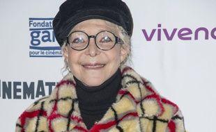 Tonie Marshall a la soiree d ouverture de la retrospective Jean Luc Godard en hommage a Anna Karina a la cinematheque Francaise a Paris en France le 8 janvier 2020