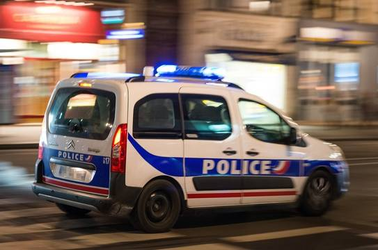 Une voiture de police en intervention. (Illustration)