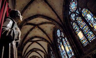 Illustration cathédrale de Strasbourg. Le 20 02 07 Saint Thomas
