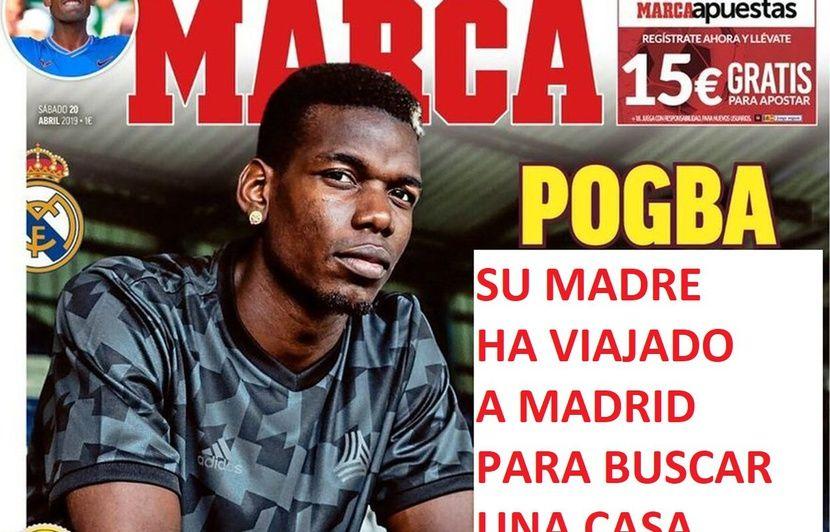 Fake mercato: Paul Pogba au Real Madrid? On a imaginé les prochains articles des journaux anglais et espagnols