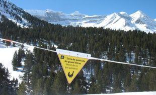 Des zones de quiétude ont été mises en place dans les Pyrénées pour ne pas déranger les animaux.