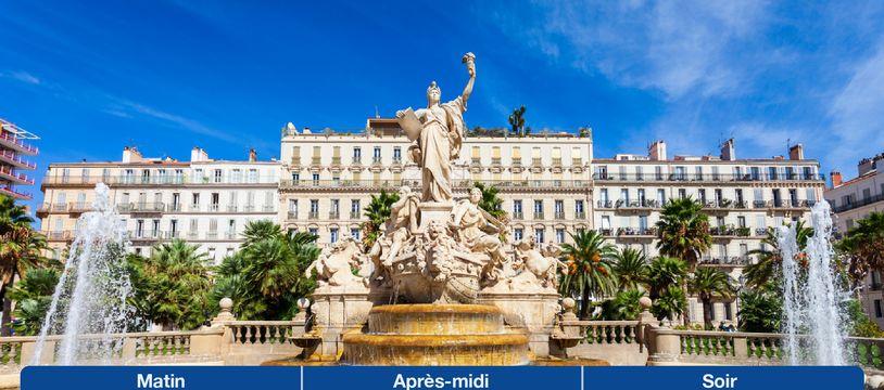 Météo Toulon: Prévisions du lundi 25 janvier 2021