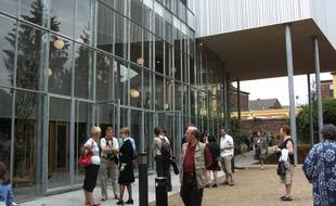 Le musée de la photographie à Charleroi.