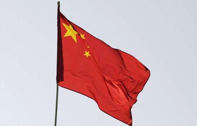 Illustration: Le drapeau chinois.