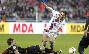 A l'image de son capitaine Maxime Gonalons, l'OL grimace pour de bon ce samedi après ce nouveau revers face à Guingamp (1-3).