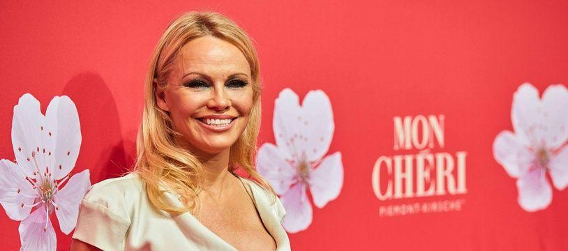 Pamela Anderson à Munich le 4 décembre 2018.