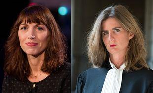 Vanessa Springora (à gauche) et Camille Kouchner (à droite), deux femmes en lutte contre les violences sexuelles faites aux enfants (Montage « 20 Minutes »)