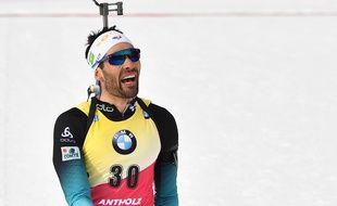 Martin Fourcade n'est plus leader de la Coupe du monde de biathlon.