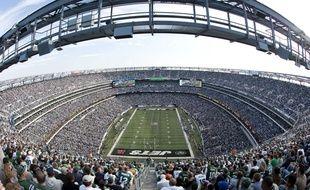 Vue du MetLife Stadium à East Rutherford, New Jersey.
